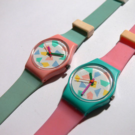 Swatch - Blue Lolly and Pink Lolly