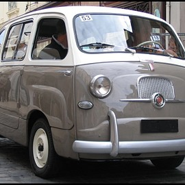 Fiat - Redesign 600 Multipla 1956