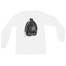 MIKE KELLEY, OPENING CEREMONY - Garbage Bag Long-Sleeve Tee