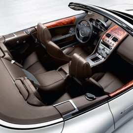 Aston Martin - DB9 Convertible Interior