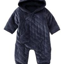 GAP - Quilted bear footed one-piece