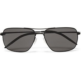 Oliver Peoples - Clifton Square-Frame Metal Sunglasses