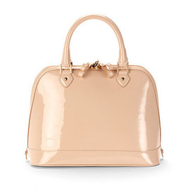 Aspinal of London - Hepburn Bag in Nude Patent