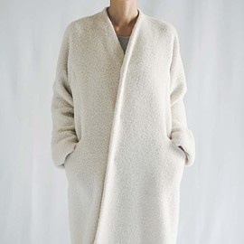 JURGEN LEHL - Coat Made of Alapaca Wool