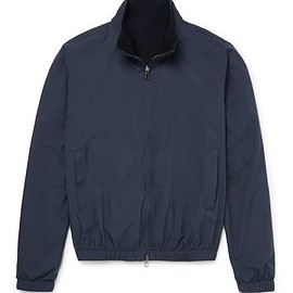 Loro Piana - Reversible Storm System® Shell and Cashmere Bomber Jacket