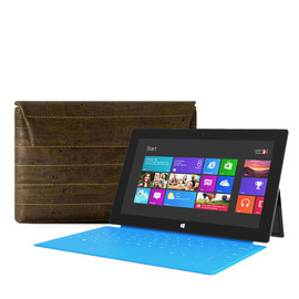Corkor - Microsoft Surface 2 Tablet Case, Cork Sleeve for Microsoft Gear - Vegan Gift