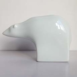 Dansk Design - Savings box White Bear