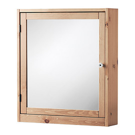 IKEA - SILVERÅN Mirror cabinet, light brown light brown 60x14x68 cm