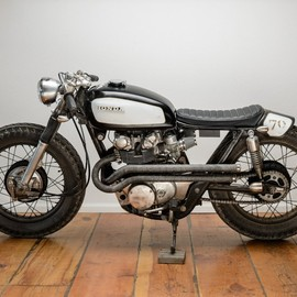 "Honda - CL450  1970  ""Junkyard"" by Spin Cycle Industries"