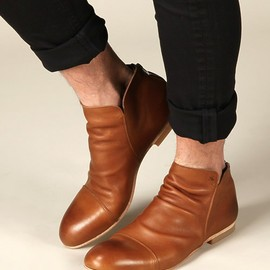 BACKZIP LAYERED BOOTS EX (PADRONE×And A)
