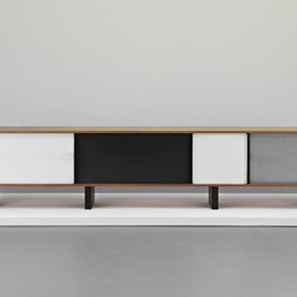 Charlotte Perriand - Monumental Bahut sideboard, ca 1959, from Dr Georges Ferran, Cully, Calvados