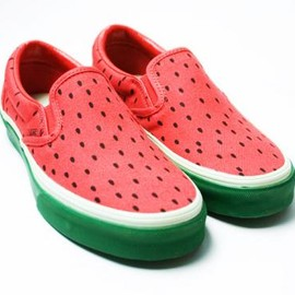 VANS - watermelon slip-on