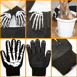SKULL BONE WORK GLOVE