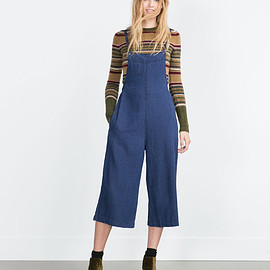 ZARA - DENIM JUMPSUIT from Zara