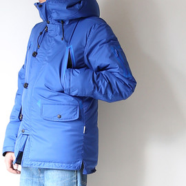MINOTAUR - WATERPROOF STRETCH N3B DOWN JACKET