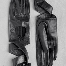 & Other Stories - & Other Stories | Leather wrap gloves