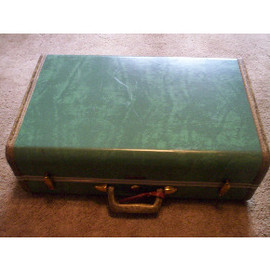 Samsonite - Green Luggage '50