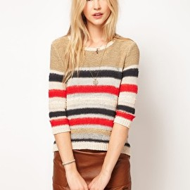 asos - Image 1 ofPepe Jeans Striped Jumper