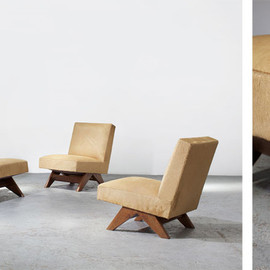Pierre Jeanneret - Sofa set 1952-56