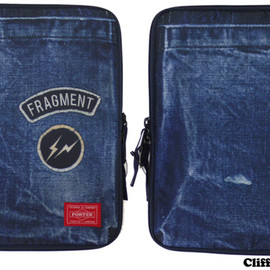 Fragment Design x HEAD PORTER - Fragment Design x HEAD PORTER  iPad Case [ケース]  INDIGO  【新品】