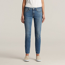 LEVI'S - Empire Cropped Skinny Jeans in Flash