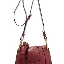 Chloé - Hayley nano textured-leather shoulder bag