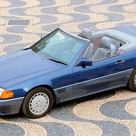Mercedes-Benz - SL Roadster in Nautikblau