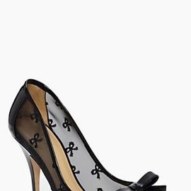 kate spade NEW YORK - bow/heels