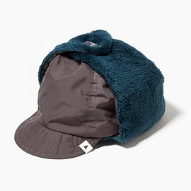 and wander, アンドワンダー - high loft fleece ear cap