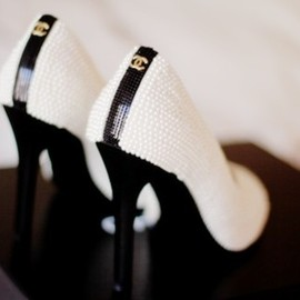 CHANEL - white shoes