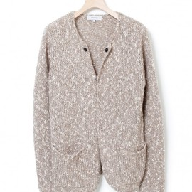 nonnative - VOYAGER CARDIGAN ? COTTON MIX SLUB