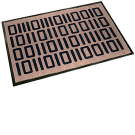ThinkGeek - Welcome In Binary Floor/Door Mat