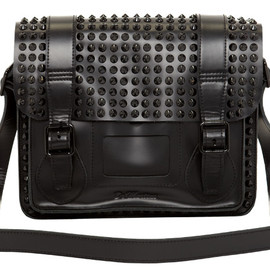"Dr.Martens - 11"" Studded Leather Satchel"