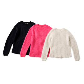 beautiful people - mohair shaggy pullover