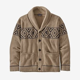 patagonia - Men's Recycled Wool Shawl-Collar Cardigan
