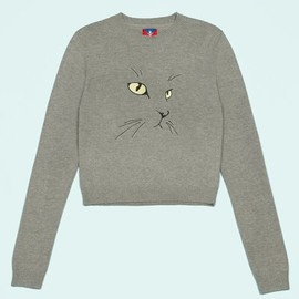 OPENING CEREMONY - Exclusive Cat Embroidered Sweater