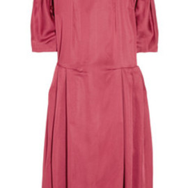 MARNI - Textured-satin dress