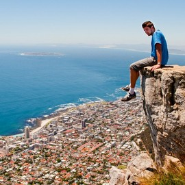 South Africa - Lion's Head Mountain in Cape Town