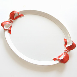 kino - Oval Ribbon Serving Tray