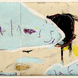 Joseph O'Neal - Palais La Flor, 2008, mixed media on wood