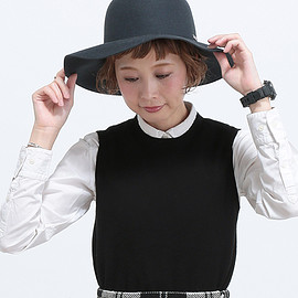 override - OR LAPINFUR Floppy Hat