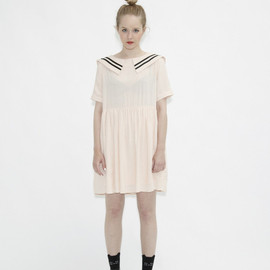 THE WHITE PEPPER - Sailor Dress White
