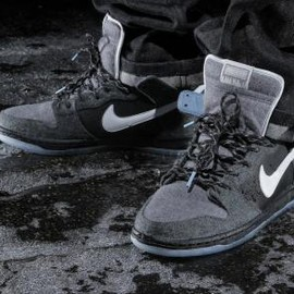 NIKE SB - PREMIER × NIKE SB DUNK HIGH DARK CHARCOAL/WHITE-LIGHT GRAPHITE