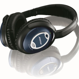 Bose - Limited Edition QuietComfort15 Acoustic Noise Cancelling headphones - Metallic Blue