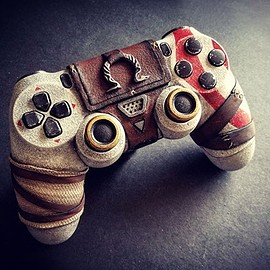 SONY - DUALSHOCK4 Controller God of War Model by Devin L Smith