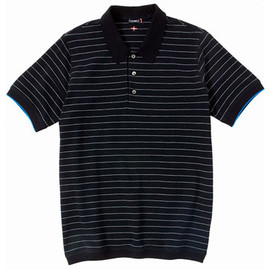 CASH CA - STRIPED SS POLO SHIRT
