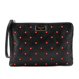 MARC JACOBS - BEAD EMBELLISHED LEATHER POUCH