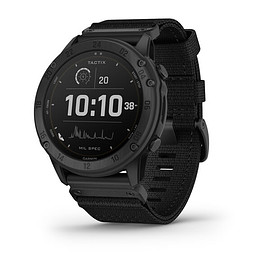 Garmin - tactix® Delta (Solar Edition) - Black