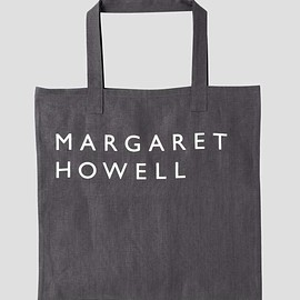 MARGARET HOWELL - LINEN LOGO BAG