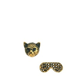 asos - Mismatch Cat & Sunglasses Stud Earrings